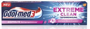 Odol Med 3 Zahncreme Extreme Clean Tiefenreiningung 75 ml