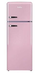 Amica Kühl-/Gefrierkombination KGC 15636 P, 208 l, ST, 40 dB, 2,5 kg/24h, A++, Farbe Rosa