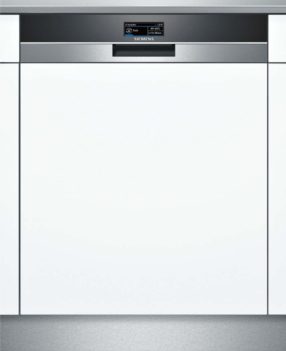 Bild 1 von Siemens Spüler 60cm integriert Edelstahl iQ700 SN578S36TE