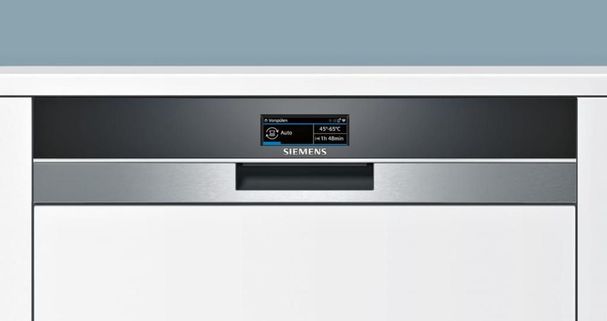 Bild 2 von Siemens Spüler 60cm integriert Edelstahl iQ700 SN578S36TE
