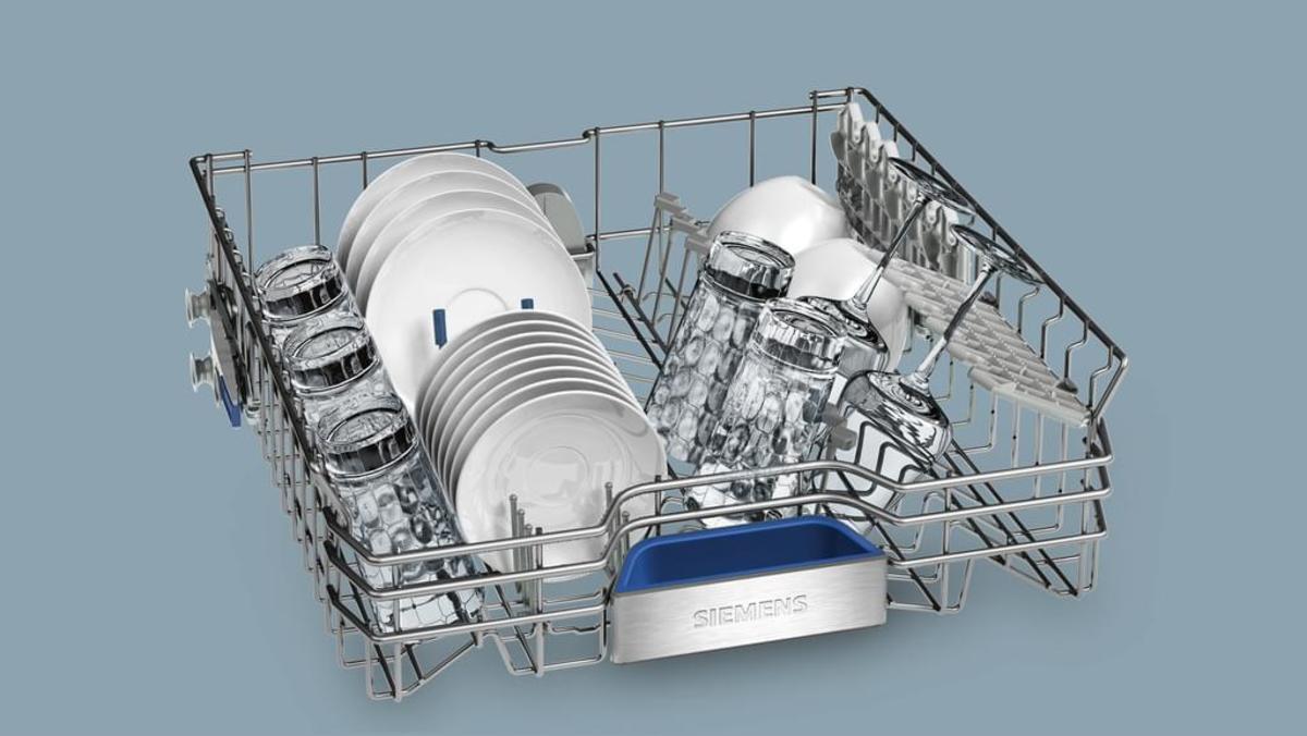 Bild 3 von Siemens Spüler 60cm integriert Edelstahl iQ700 SN578S36TE