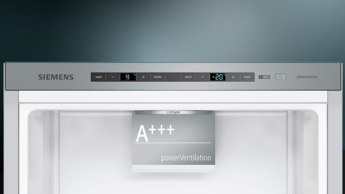 Bild 4 von Siemens Stand-Kühl-Gefrierkombination iQ300 KG39E2I4A