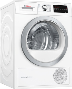 Bosch Wärmepumpen-Wäschetrockner WTW854T0, SelfCleaning Condenser, Energieklasse A++, weiß