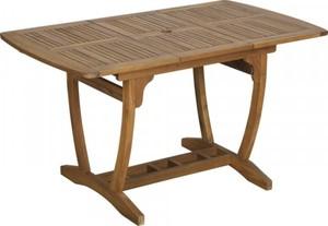 Trendline Tisch Borkum ,  100/140 x 80 cm, ausziehbar