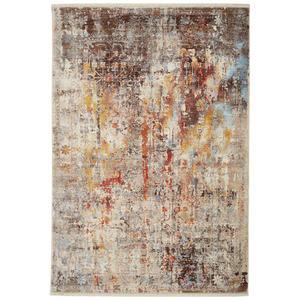 Esposa VINTAGE-TEPPICH 120/153 cm Grau, Mehrfarbig