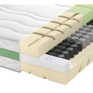Schlaraffia Partnermatratze Taschenfeder ROAD 290 TFK COMFEEL PLUS 180/200 cm 24 cm, Weiß