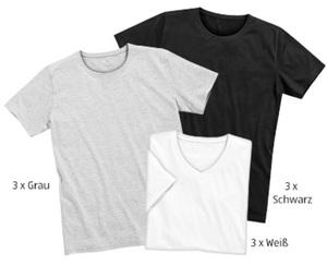 watson´s  T-Shirts, 3 Stück