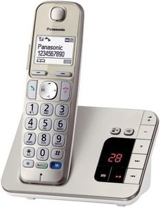Panasonic KX-TGE220 Single Festnetz-Telefon ,  mit Anrufbeantworter