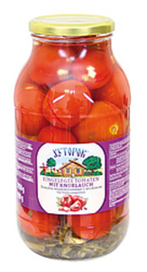 """Eingelegte Tomaten mit Knoblauch """"Chutorok"""""""