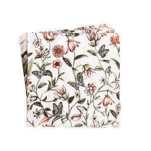 Serviette Blumenranke, 20 Stück, FSC® Mix, bunt