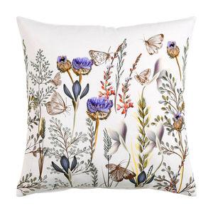 Kissenhülle Klee, B:45cm x L:45cm, lila