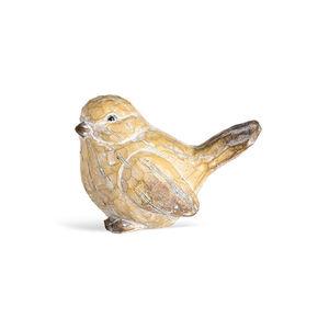Dekofigur Antique Bird, B:14cm x L:10cm, natur