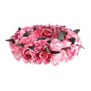 Dekokranz Rosen, D:40cm, pink