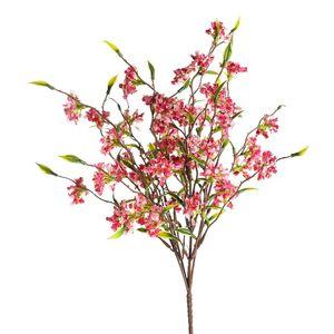 Blumenpick Blütenbusch, L:33cm, pink