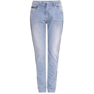 Damen Boyfriend-Jeans mit Zierstreifen