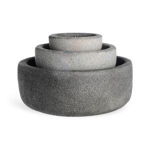 Brunnen, D:38cm x H:24cm, grau