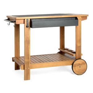 Barbecue Trolley, FSC® 100%, L:96cm x H:75cm, natur