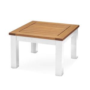 Beistelltisch, Holz FSC® 100%, 47x47x32cm, weiß