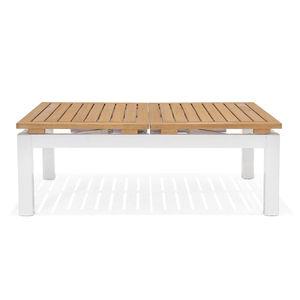 Couchtisch, multifunktional, B:148cm, Holz FSC® 100%, weiß