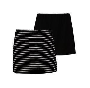Damen-Shirt-Verlängerung, 2er Pack, große Größen
