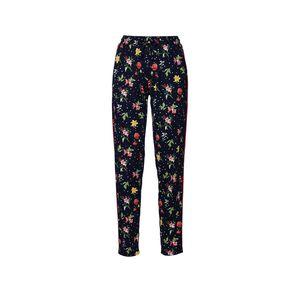 Laura Torelli Young Fashion Damen-Stoffhose mit Blumenmuster