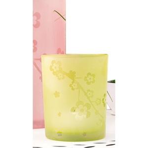 casaNOVA Windlicht FLOWER 10 cm Glas grün