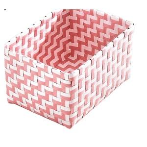 Kleine Wolke Aufbewahrungsbox DOUBLE 20 x 12 x 16,5 cm in Rosa