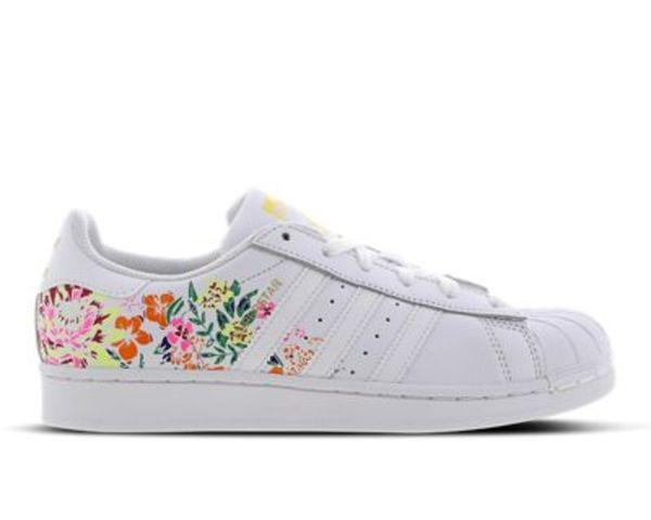 adidas Superstar Flower Embroidery - Damen Schuhe
