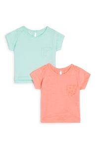 T-Shirt für Babys (M), 2er-Pack