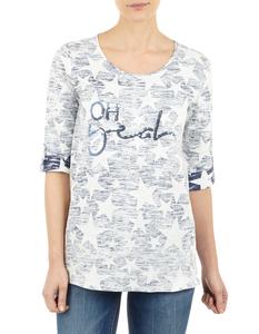 Damen Shirt mit Allover-Muster