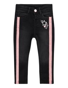 Baby Stone Washed Jeans mit Kontraststreifen