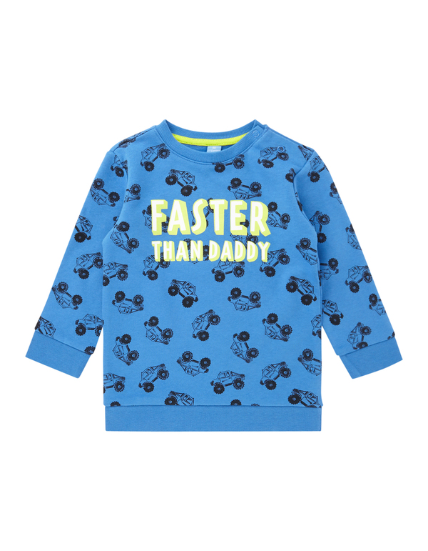 Baby Sweatshirt mit Message-Prints