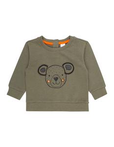 Newborn Sweatshirt mit Bären-Print