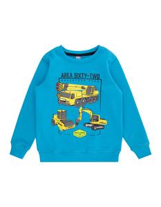 Jungen Sweatshirt mit Lastwagen-Prints