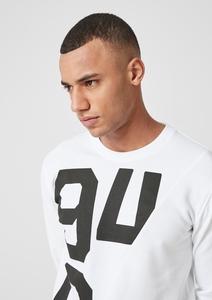 Sweatshirt mit großem Print