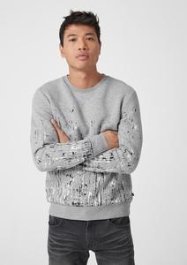 Sweatshirt mit Artwork-Print