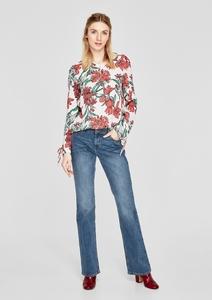 Smart Bootcut: Jeans mit Wascheffekt