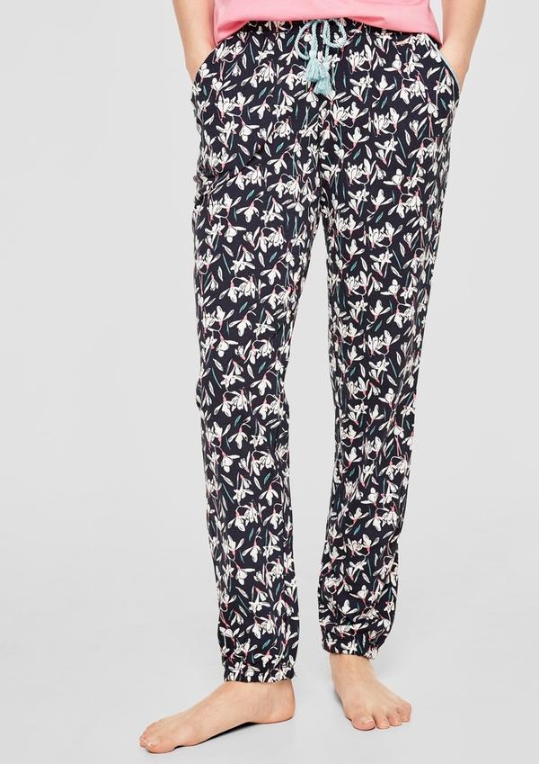 Gemusterte Pyjamahose