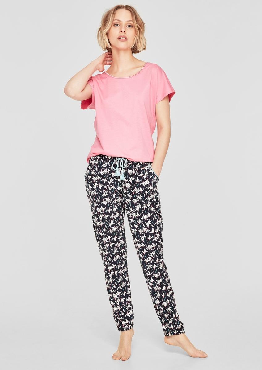 Bild 2 von Gemusterte Pyjamahose