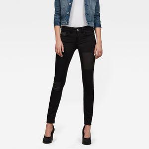 Lynn Mid Skinny Restored Jeans