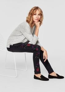 Shape Superskinny: Bestickte Jeans