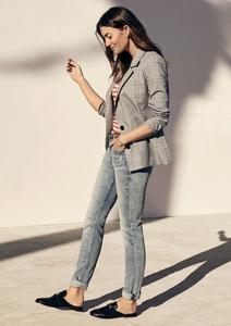 Regular Slim: Used-Jeans