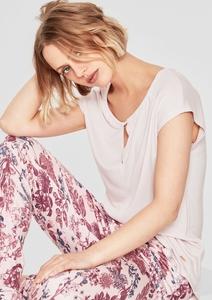 Pyjama-Shirt mit Cut-Out