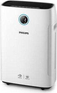 Philips Kombigerät Luftbefeuchter und -reiniger AC2729/10 2-in-1 Kombigerät, bis 60 m² Raumgröße, weiß, für 60 m² Räume