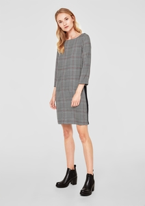 Blusen-Kleid im Glencheck-Style