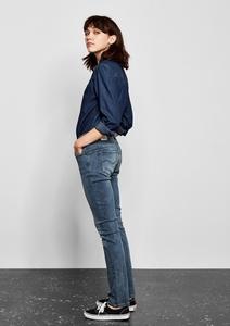 Catie Slim: Jeans im Used-Look