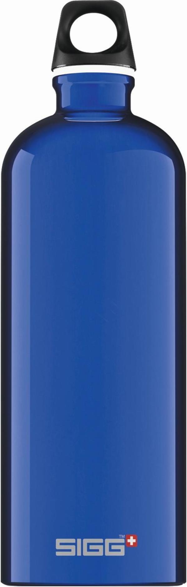 SIGG Trinkflasche Alu Traveller Dark Blue 1l