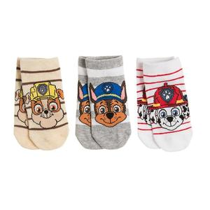 Kinder Sneaker Socken 3er-Pack Paw Patrol