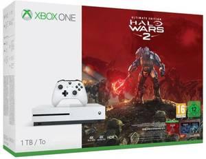 Microsoft Xbox One S 1 TB Weiß inkl. Halo Wars