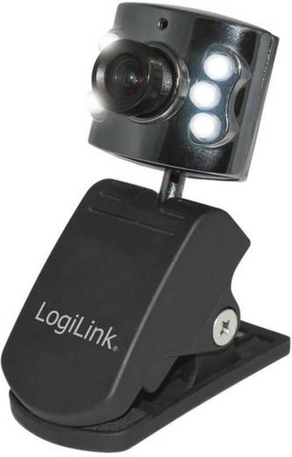 LogiLink UA0072 Webcam 640 x 480 Pixel Klemm-Halterung